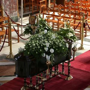 Picture of Church funeral decoration