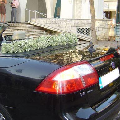 Στολισμός Αυτοκινήτου με γυψόφυλλο