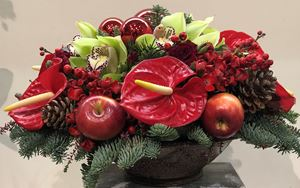 Picture of Table Christmas Arrangement