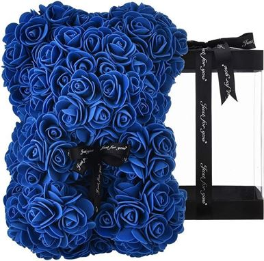 Picture of Rose Bear Blue Μεσαίο