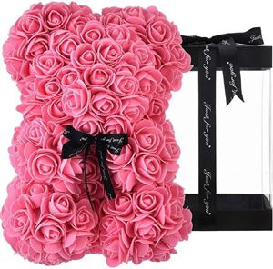 Picture of Rose Bear Dark Pink Μεσαίο