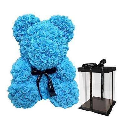 Picture of Rose Bear Light Blue Μεγάλο