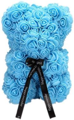 Rose Bear Light Blue Μεσαίο