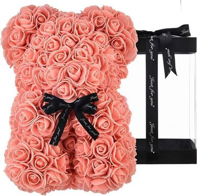 Rose Bear Light Pink Μεσαίο
