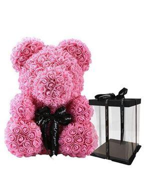 Rose Bear Pink Μεγάλο