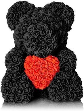 Rose Bear Black Μεσαίο