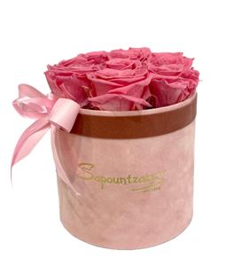 Εικόνα της Ροζ Κουτί Forever Roses Ροζ
