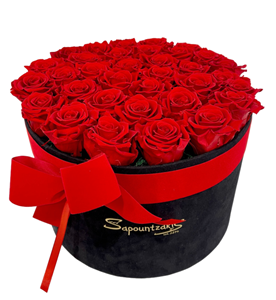 Picture of Black Box Forever Roses Red