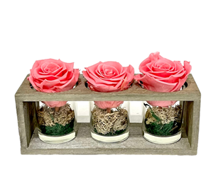 Picture of Wooden Base 3 Forever Pink