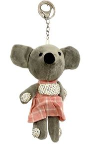 Picture of Teddy Bear Mouse Key Chain
