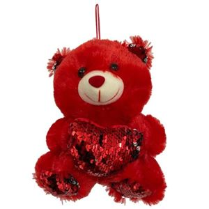 Picture of Teddy Bear Red Heart Red